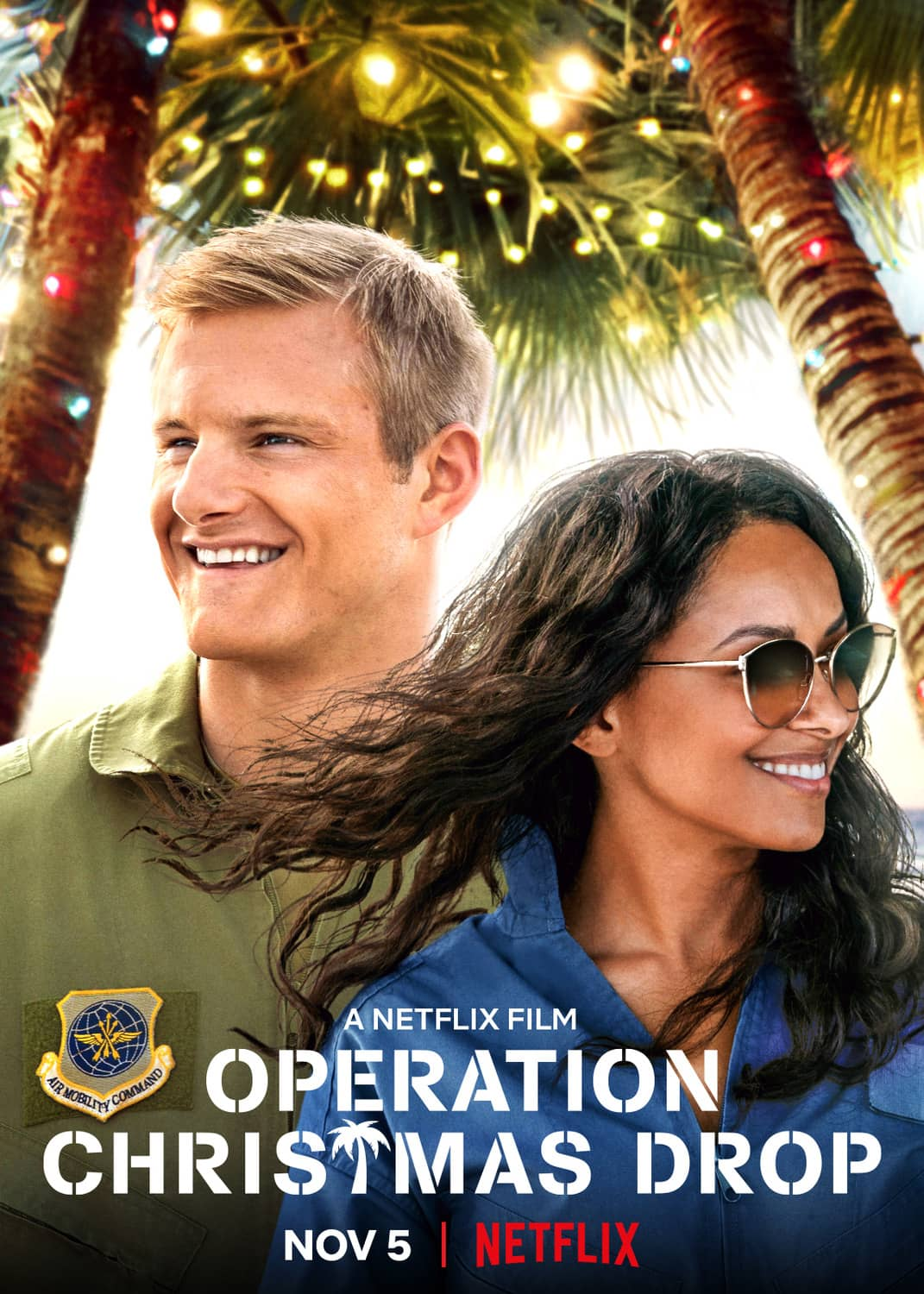Operation Christmas Drop Poster Netflix