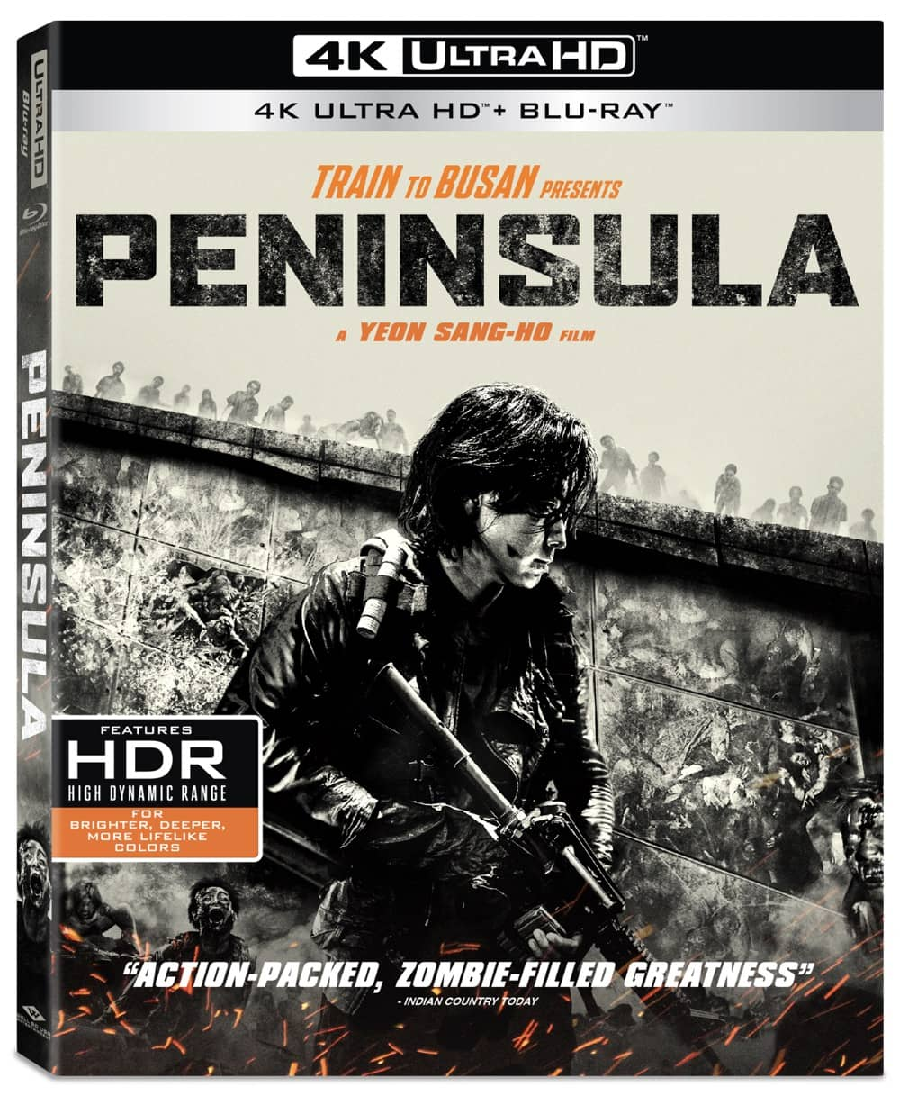 Train to Busan Presents PENINSULA 4K Cover