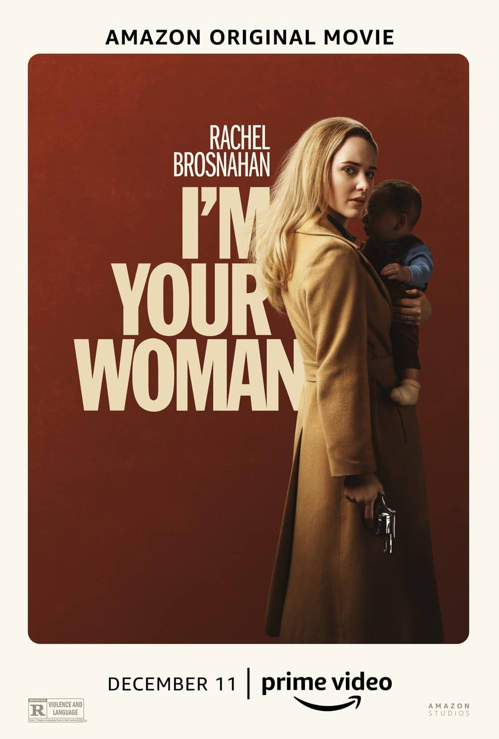 Im Your Woman Movie Poster Amazon Rachel Brosnahan