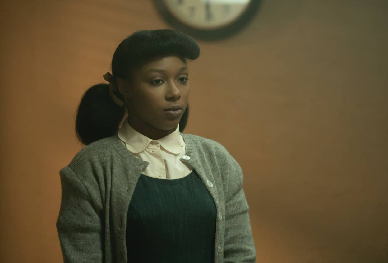 "FARGO -- ""The Birthplace of Civilization"" - Year 4, Episode 5  (Airs October 18)  Pictured: E'myri Crutchfield as Ethelrida Pearl Smutny. CR: Elizabeth Morris/FX"