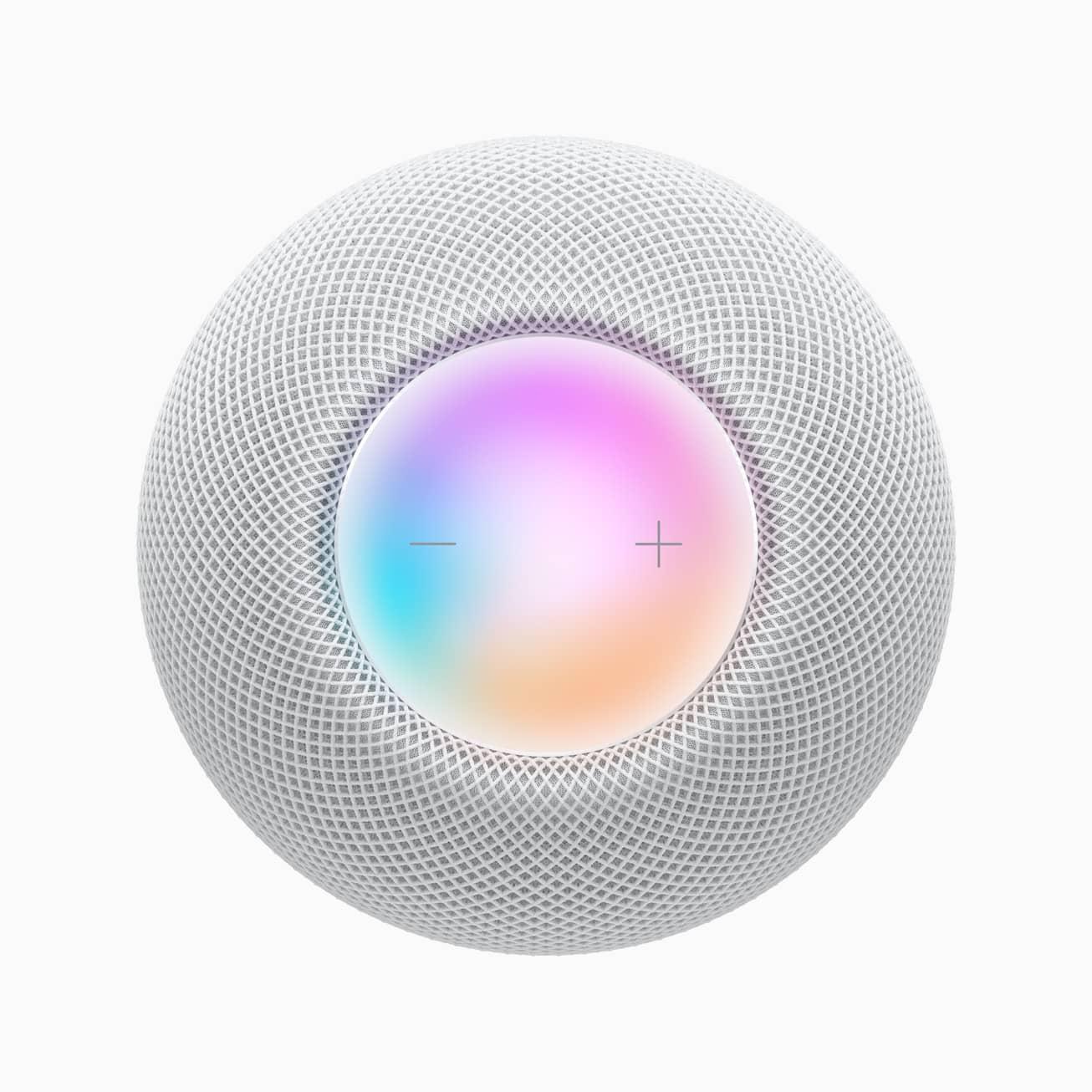 Apple homepod mini white siri 10132020