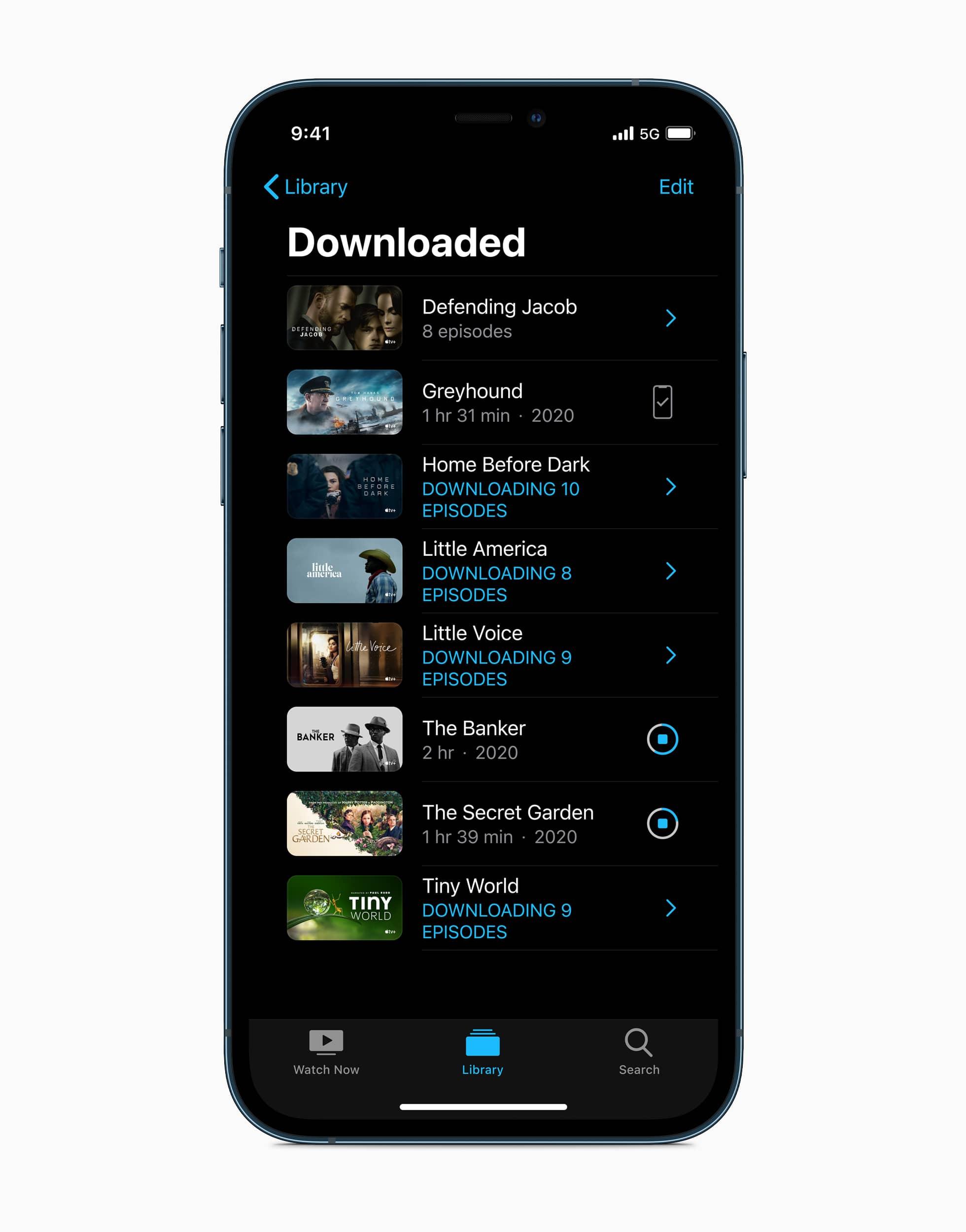 Apple iphone12pro ios14 tv downloads 10132020