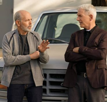 """Sturgeon Season"" -- Gibbs and Fornell (Joe Spano) attempt to track down the leader of a drug ring who supplied drugs to Fornell's daughter. Also, the team deals with the case of a missing cadaver from the NCIS autopsy room, on the 18th season premiere of NCIS, Tuesday, Nov. 17 (8:00-9:00 PM, ET/PT) on the CBS Television Network. Pictured: Joe Spano as Tobias ""T.C."" Fornell, Mark Harmon as NCIS Special Agent Leroy Jethro Gibbs. Photo: Sonja Flemming/CBS ©2020 CBS Broadcasting, Inc. All Rights Reserved."
