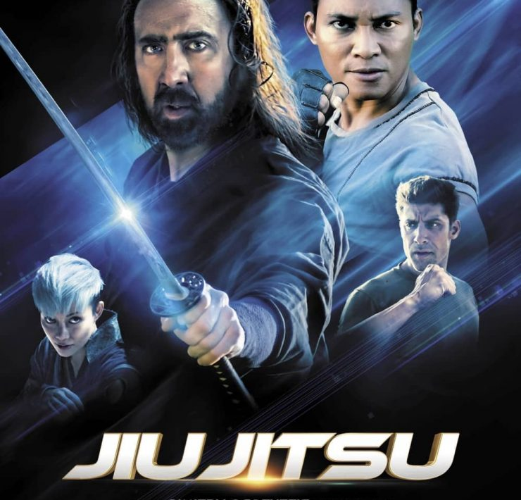 JIU JITSU Movie Poster Nicolas Cage