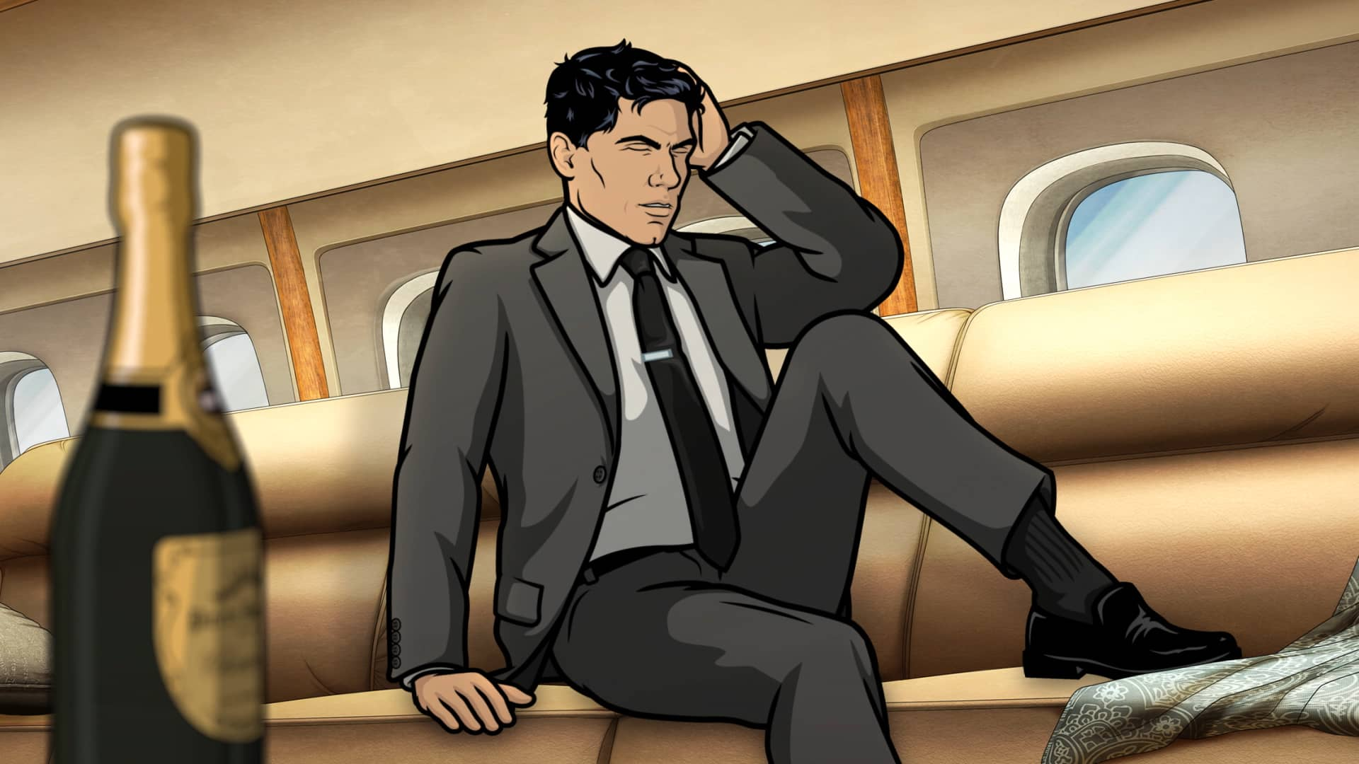 "ARCHER -- ""Caught Napping"" -- Season 11, Episode 7 (Airs October 21) Pictured: Sterling Archer (voice of H. Jon Benjamin). CR: FXX"