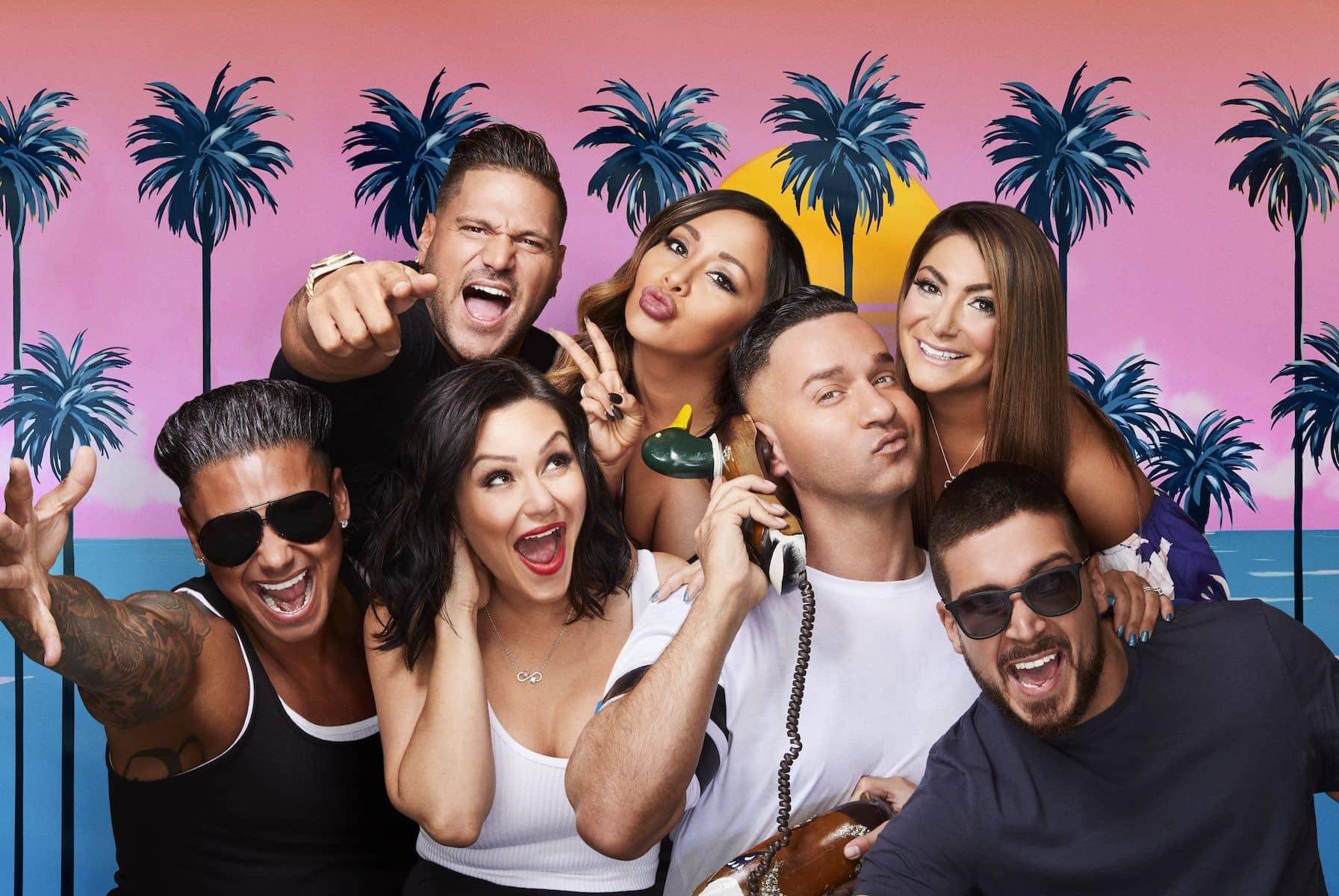 Jersey Shore Family Vacation Cast MTV