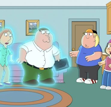 """FAMILY GUY: Peter and Lois accidentally set up a cutaway gag together, which somehow transports them into the cutaway itself in the """"CutawayLand"""" episode of FAMILY GUY airing Sunday, Oct. 18 (9:30-10:00 PM ET/PT) on FOX. FAMILY GUY © 2020 by Twentieth Century Fox Film Corporation."""