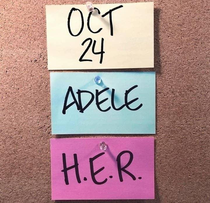 Adele HER SNL