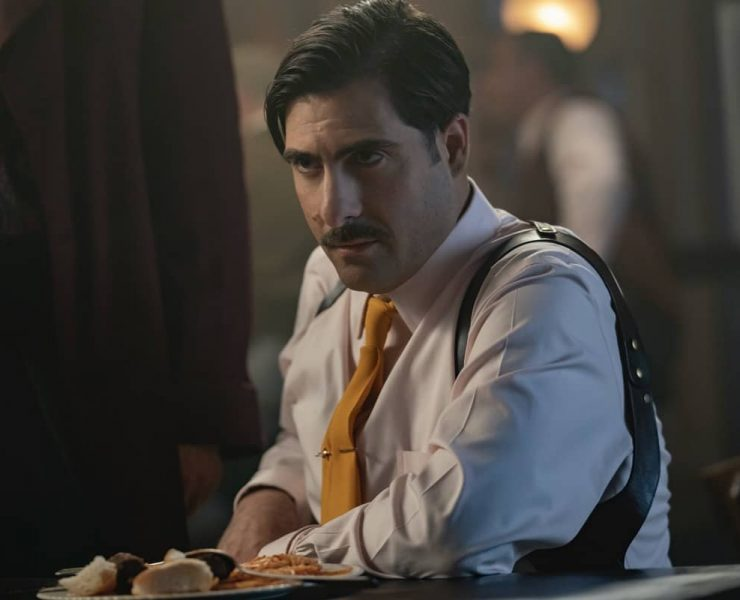 "FARGO -- ""Camp Elegance"" - Year 4, Episode 6 (Airs October 25) Pictured: Jason Schwartzman as Josto Fadda. CR: Elizabeth Morris/FX"