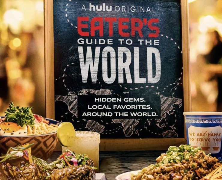 Eater's Guide to the World Poster Key Art Hulu