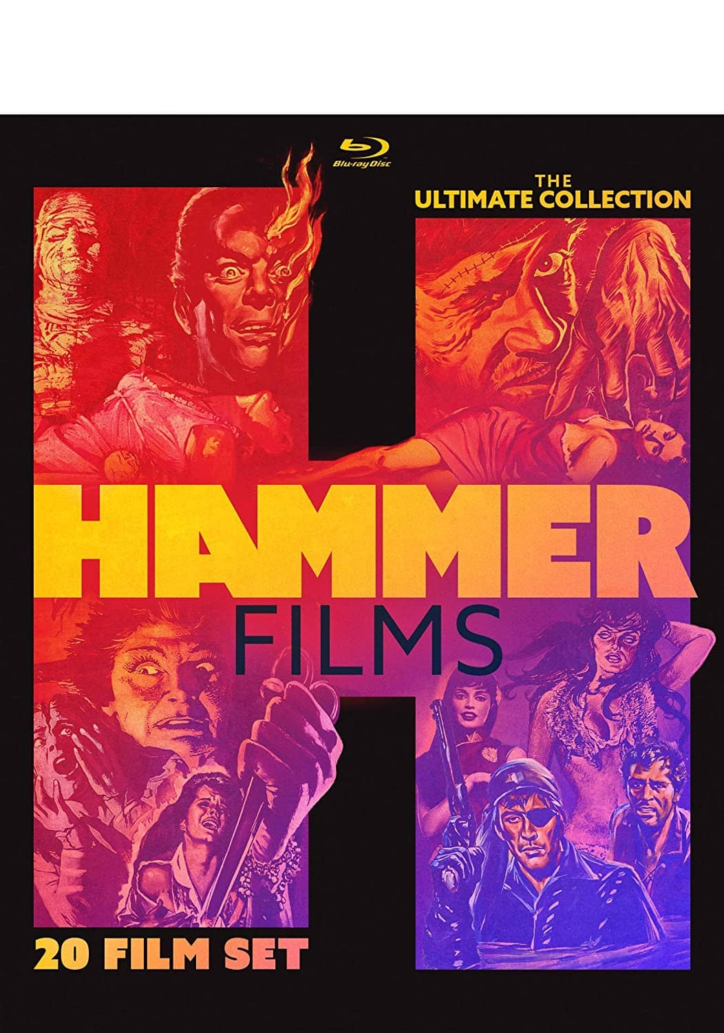 Hammer Films The Ultimate Collection Bluray