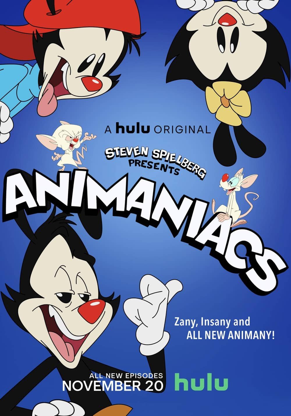 Animaniacs Official Hulu Poster Key Art
