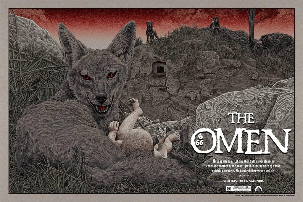 The Omen Mondo Poster Timothy Pittides