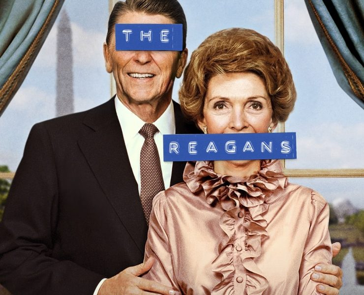THE REAGANS Poster Key Art Showtime