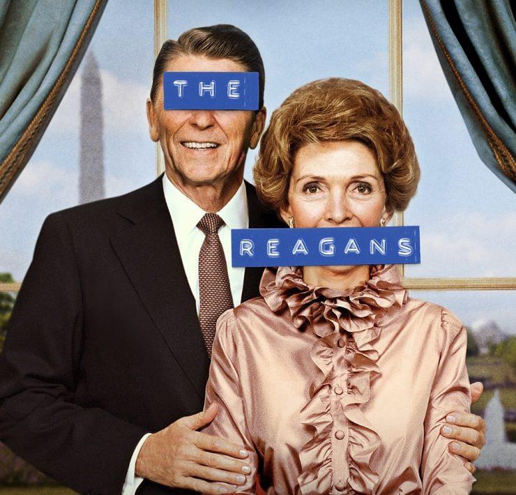 THE REAGANS Poster Key Art Showtime