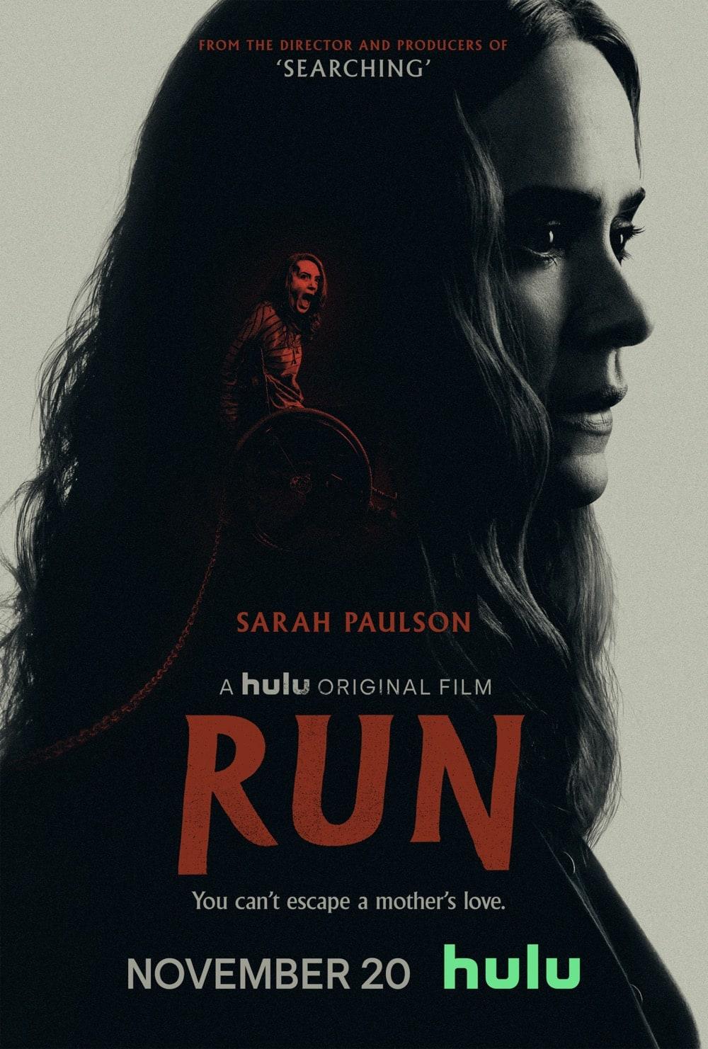 Run Poster Key Art Hulu