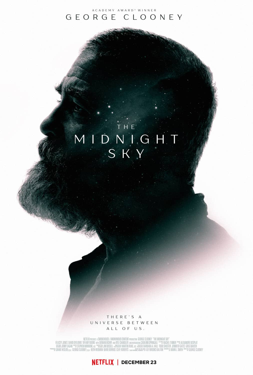 The Midnight Sky Movie Poster Netflix George Clooney