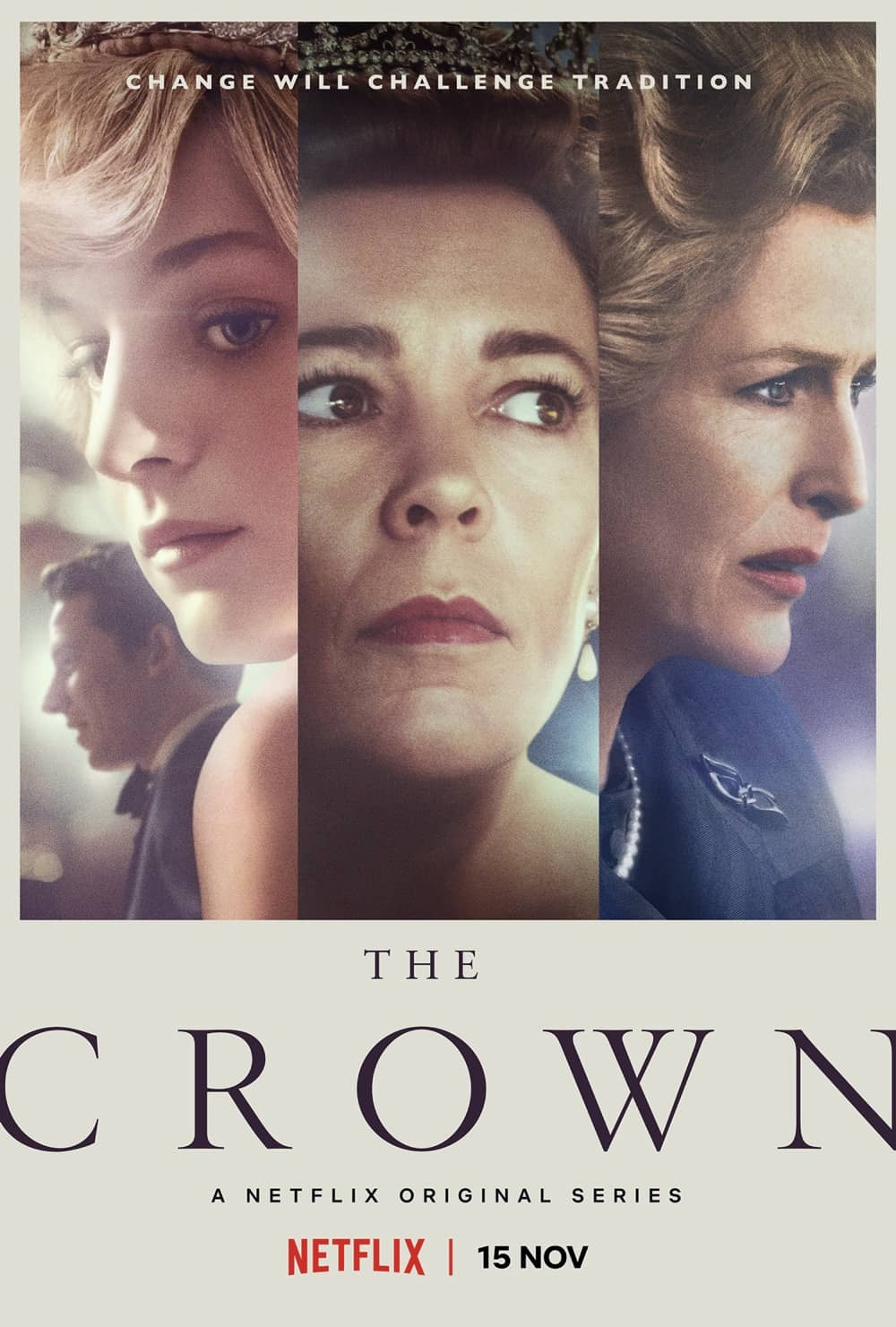 The Crown Season 4 Poster Key Art Netflix