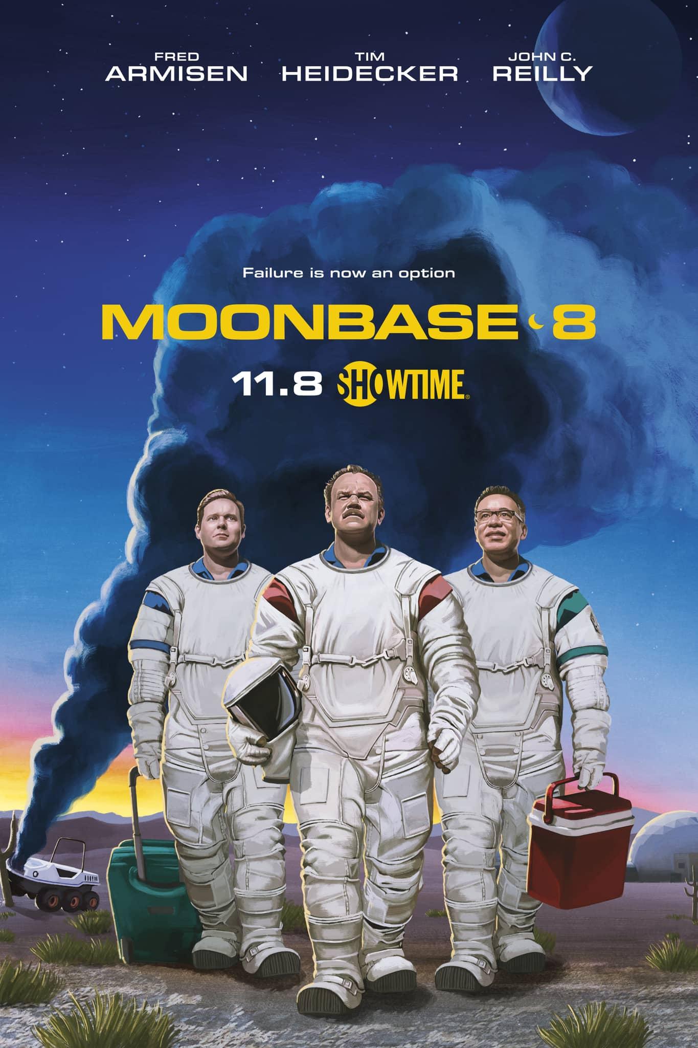 moonbase 8 Poster Key Art Showtime