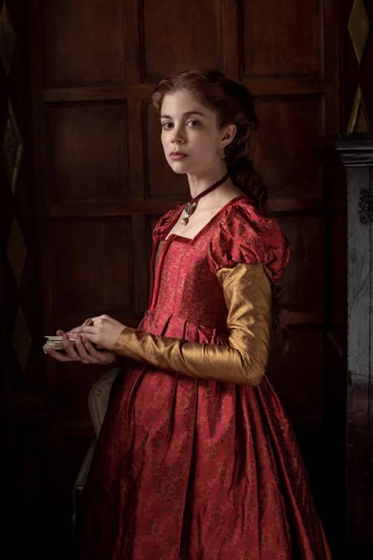 Charlotte Hope stars as Catherine of Aragon - The Spanish Princess Season 2 Episode 4 The Other Woman