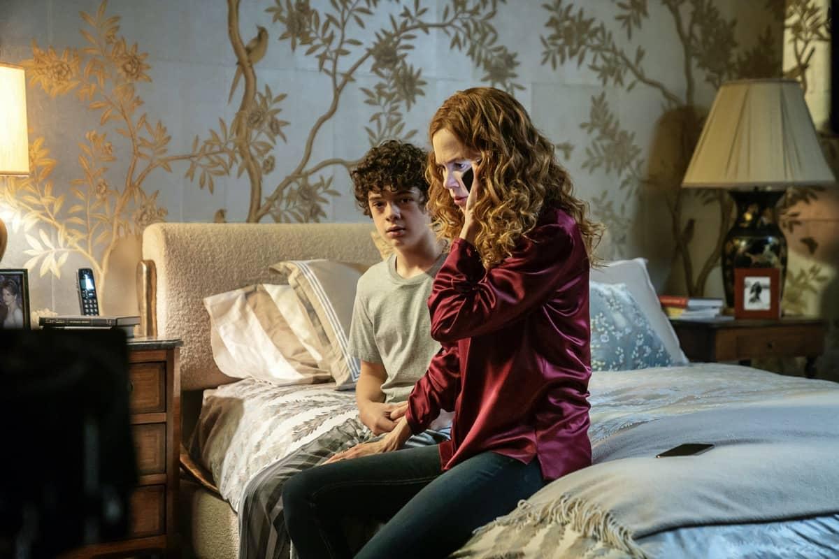 Noah Jupe, Nicole Kidman The Undoing Episode 2 Photograph by Warrick Page/HBO