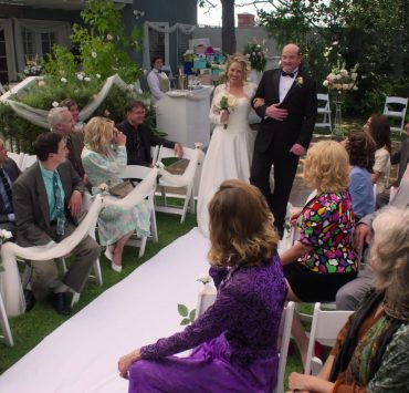 THE GOLDBERGS - Bill's Wedding Bill is getting married and Beverly and Jane have only 24 hours to plan it. Meanwhile, a fortune teller at the wedding reception could change the future for Adam, Erica and BarryÕs romantic life on an all-new episode of ÒThe Goldbergs,Ó WEDNESDAY, NOV. 4 (8:00-9:00 p.m. EST), on ABC. (ABC) JESSICA ST. CLAIR, DAVID KOECHNER