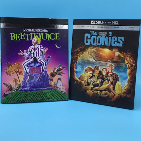Beetlejuice The Goonies 4k