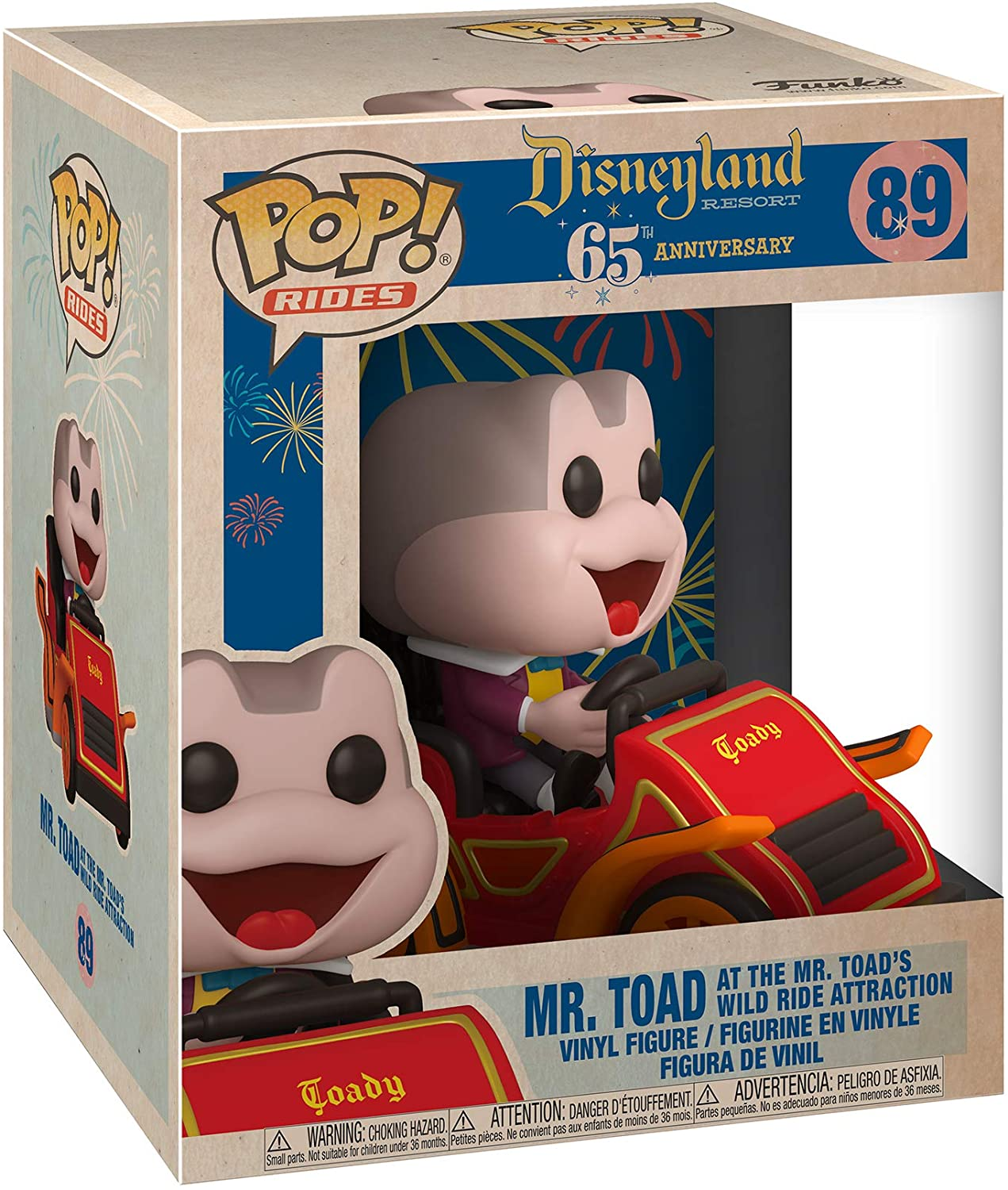 Funko Pop Mr Toad 89