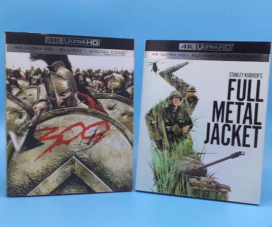 300 Full Metal Jacket 4K