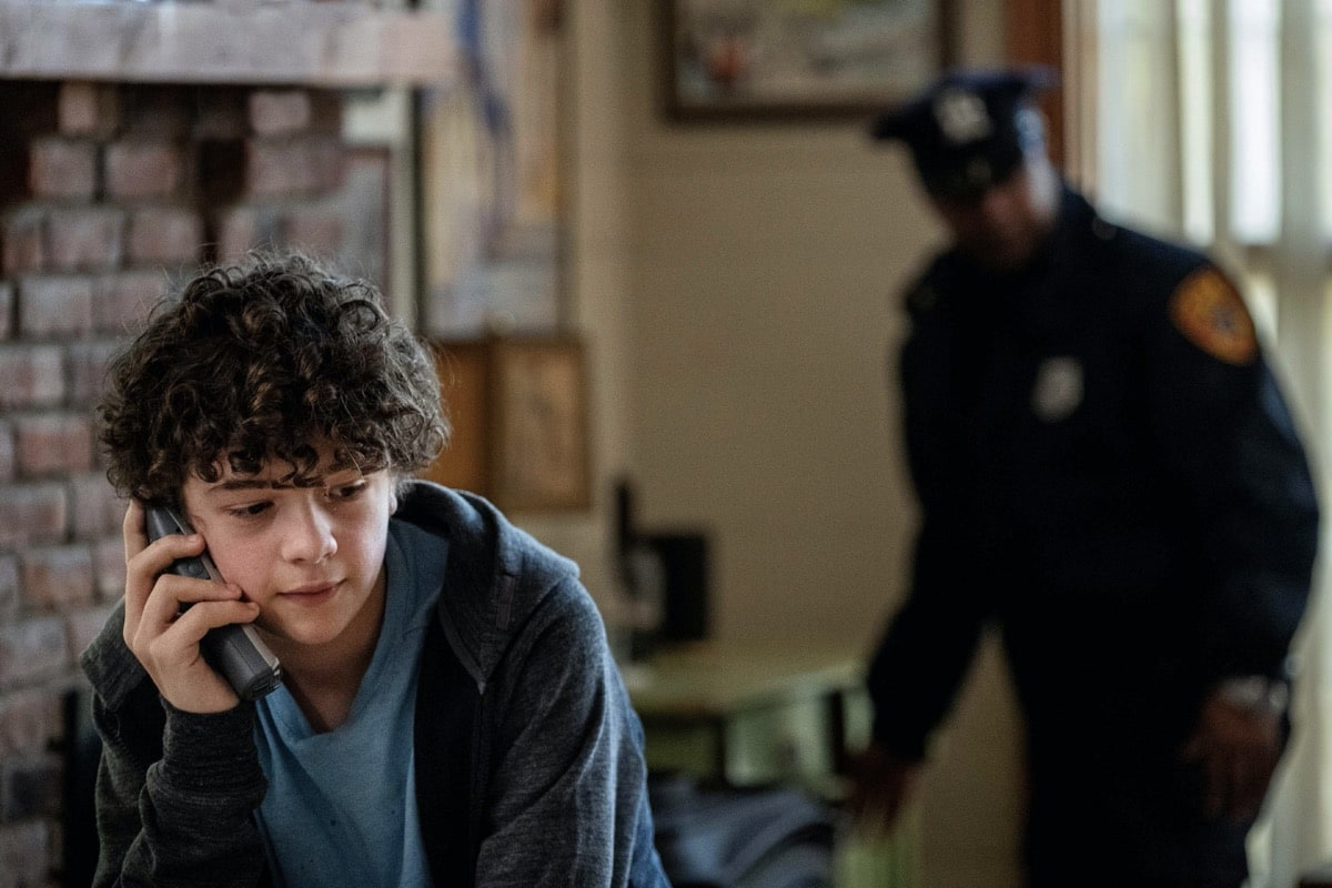 Noah Jupe HBO The Undoing Photograph by Niko Tavernise/HBO