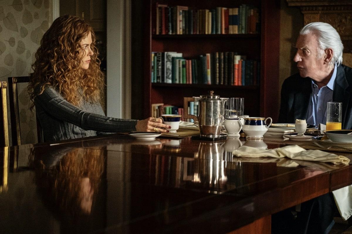 Nicole Kidman, Donald Sutherland HBO The Undoing Photograph by Niko Tavernise/HBO