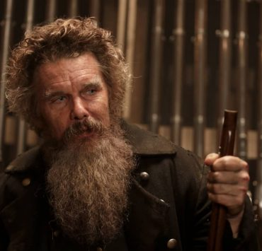 "Ethan Hawke as John Brown in THE GOOD LORD BIRD, ""Jesus is WalkinХ "". Photo Credit: William Gray/SHOWTIME."
