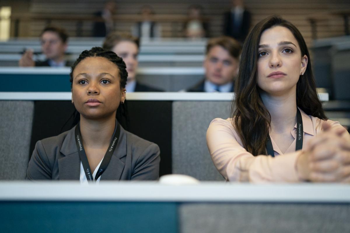 Myha'la Herrold, Marisa Abela HBO Industry Season 1 - Episode 1 Photograph by Amanda Searle/HBO