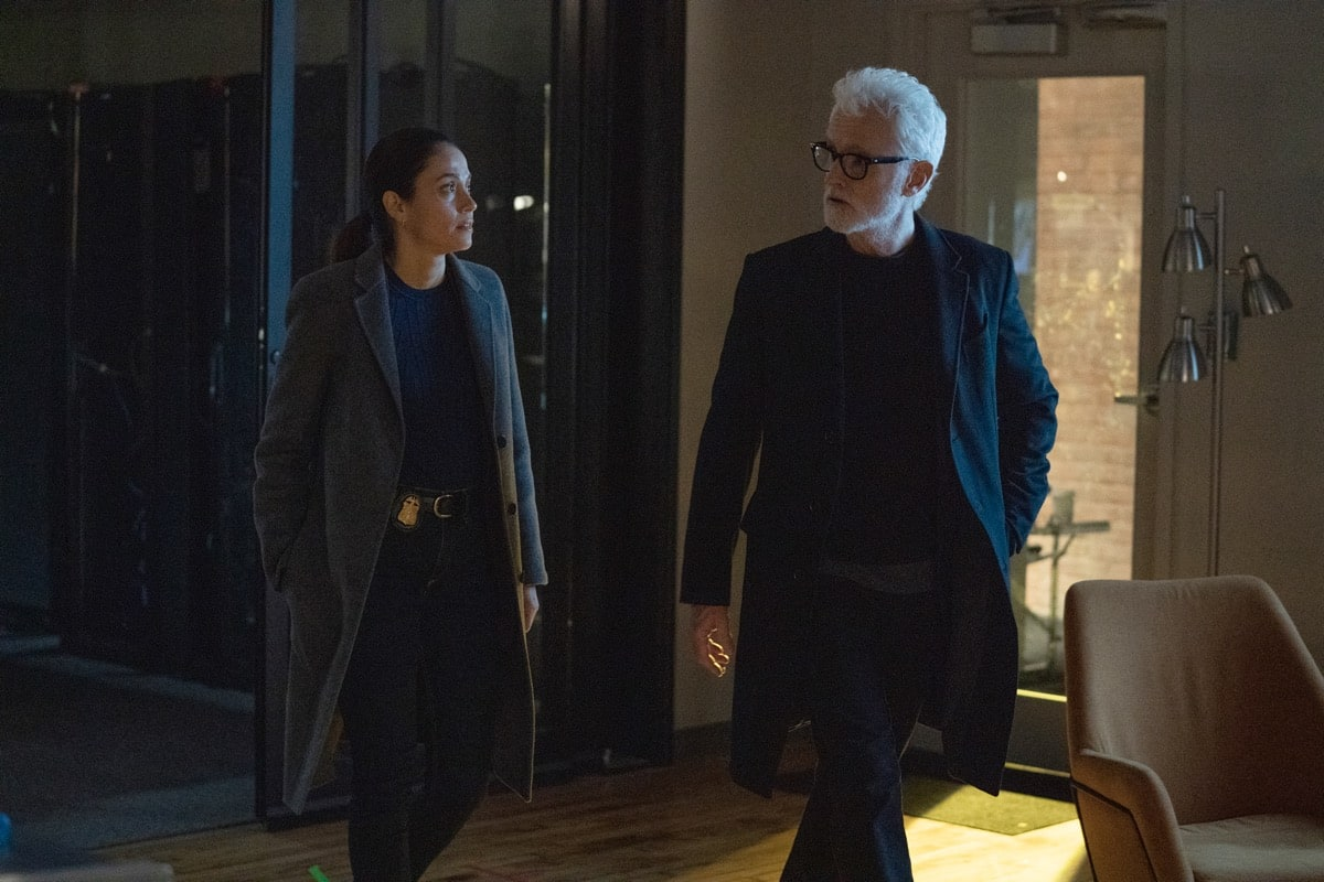 "NEXT: L-R: Fernanda Andrade and John Slattery in the ""File #3"" episode of NEXT airing Tuesday, Nov. 10 (9:00-10:00 PM ET/PT) on FOX. © 2020 FOX MEDIA LLC. Cr: Sandy Morris/FOX."