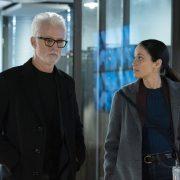 "NEXT: L-R: John Slattery and Fernanda Andrade in the ""File #3"" episode of NEXT airing Tuesday, Nov. 10 (9:00-10:00 PM ET/PT) on FOX. © 2020 FOX MEDIA LLC. Cr: Sandy Morris/FOX."