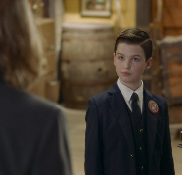 """A Docent, a Little Lady and a Bouncer Named Dalton"" - Pictured: Sheldon (Iain Armitage). Sheldon gets a summer job at the local train museum. Also, George and Missy bond when Missy embarks on a new stage of womanhood, and Georgie discovers Mary's guilty pleasure, on YOUNG SHELDON, Thursday, Nov. 12 (8:00-8:31 PM, ET/PT) on the CBS Television Network. Photo: Screen Grabs/2020 Warner Bros. Entertainment Inc. All Rights Reserved."