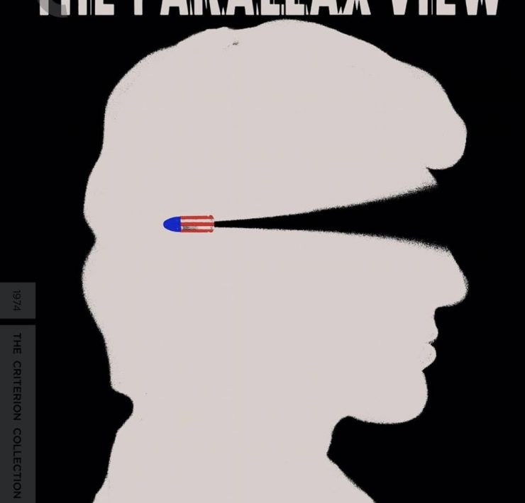 The Parallax View Criterion Collection Bluray Cover