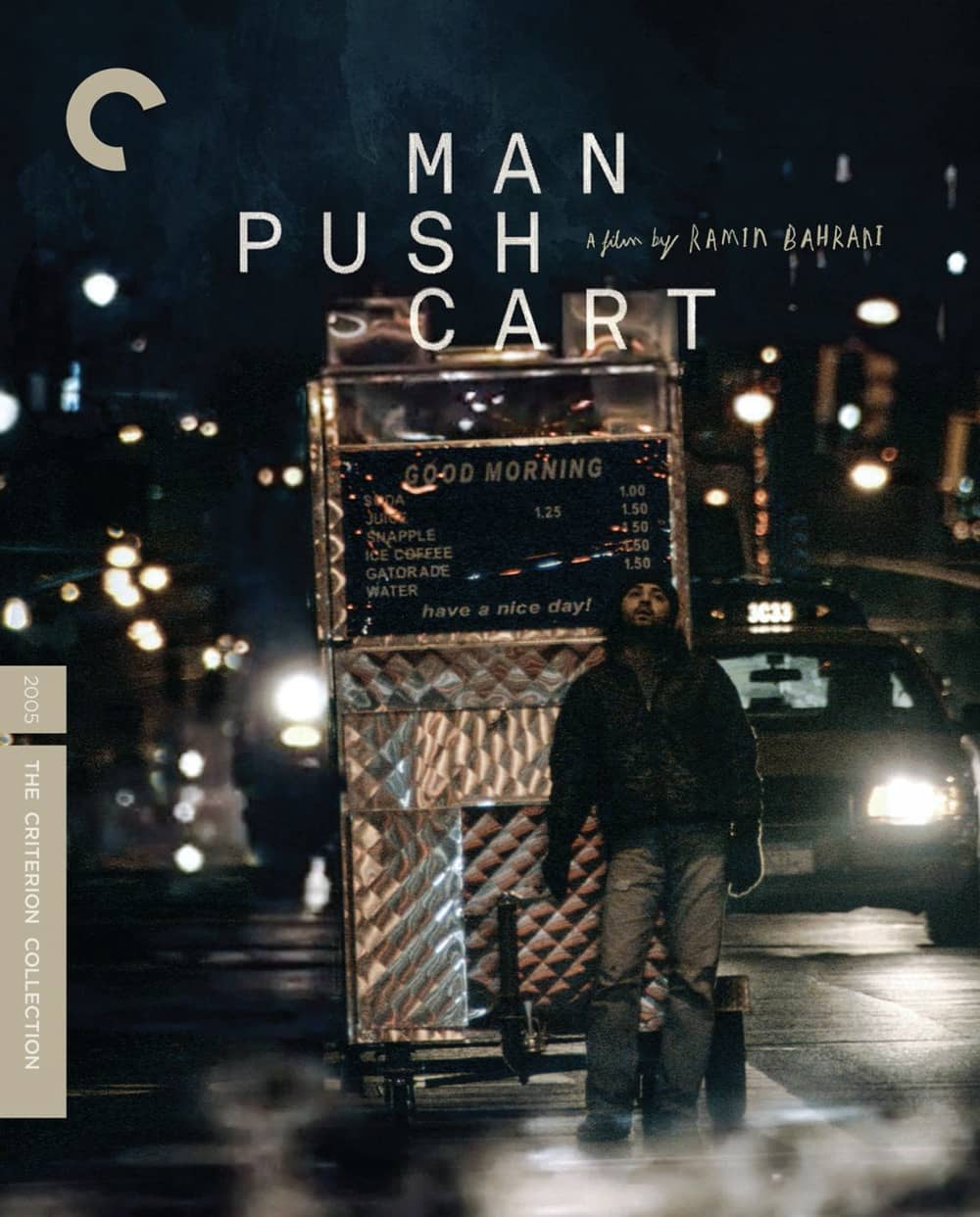 Man Push Cart Criterion Collection Bluray Cover