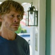 """War Crimes"" - Pictured: Eric Christian Olsen (LAPD Liaison Marty Deeks). As the trial begins of a Chief Petty Officer who Callen and Sam arrested for war crimes last year, the NCIS team is called to help find the missing star witness, on NCIS: LOS ANGELES, Sunday, Nov. 15 (8:00-9:00 PM, ET/PT) on the CBS Television Network. Photo: Screen Grab/CBS ©2020 CBSBroadcasting, Inc. All Rights Reserved."