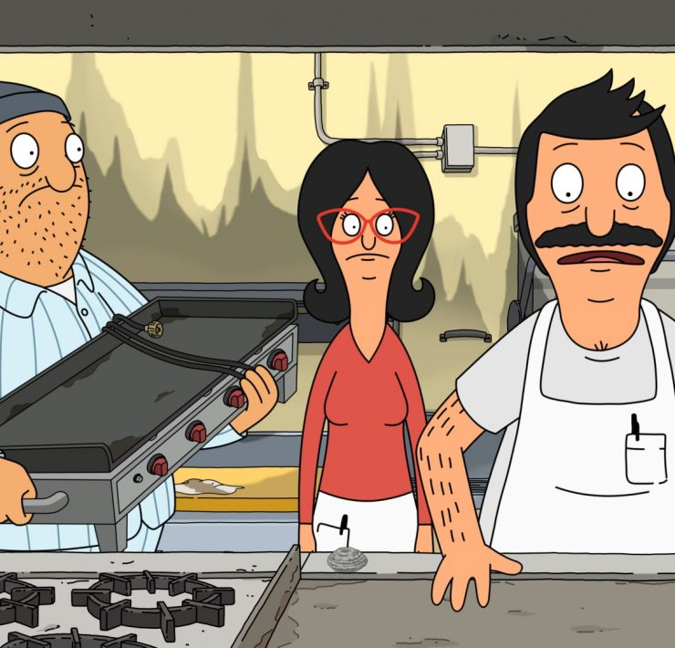 "BOB'S BURGERS: The family must figure out how to keep the restaurant open after Bob's flattop breaks on the morning of the Ocean Avenue Business Association's: Ocean Fest on Ocean Avenue in the ""Bob Belcher and the Terrible, Horrible, No Good, Very Bad Kids"" milestone 200th episode of BOB'S BURGERS airing Sunday, Nov. 15 (9:00-9:30 PM ET/PT) on FOX. BOB'S BURGERS © 2020 by Twentieth Century Fox Film Corporation."