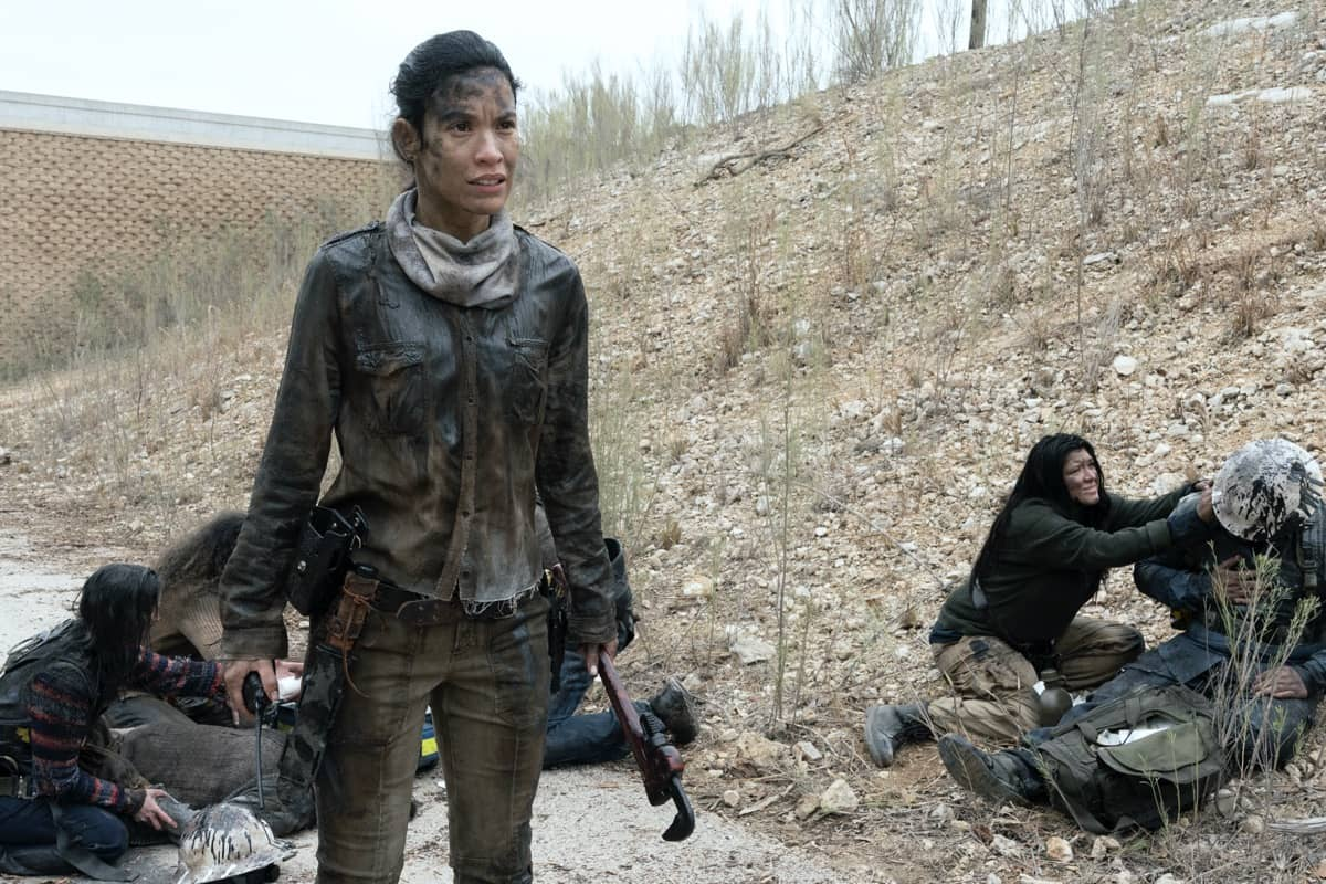 Danay Garcia as Luciana - Fear the Walking Dead _ Season 6, Episode 6 - Photo Credit: Ryan Green/AMC