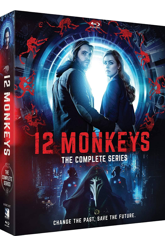 12 Monkeys Complete Series Bluray