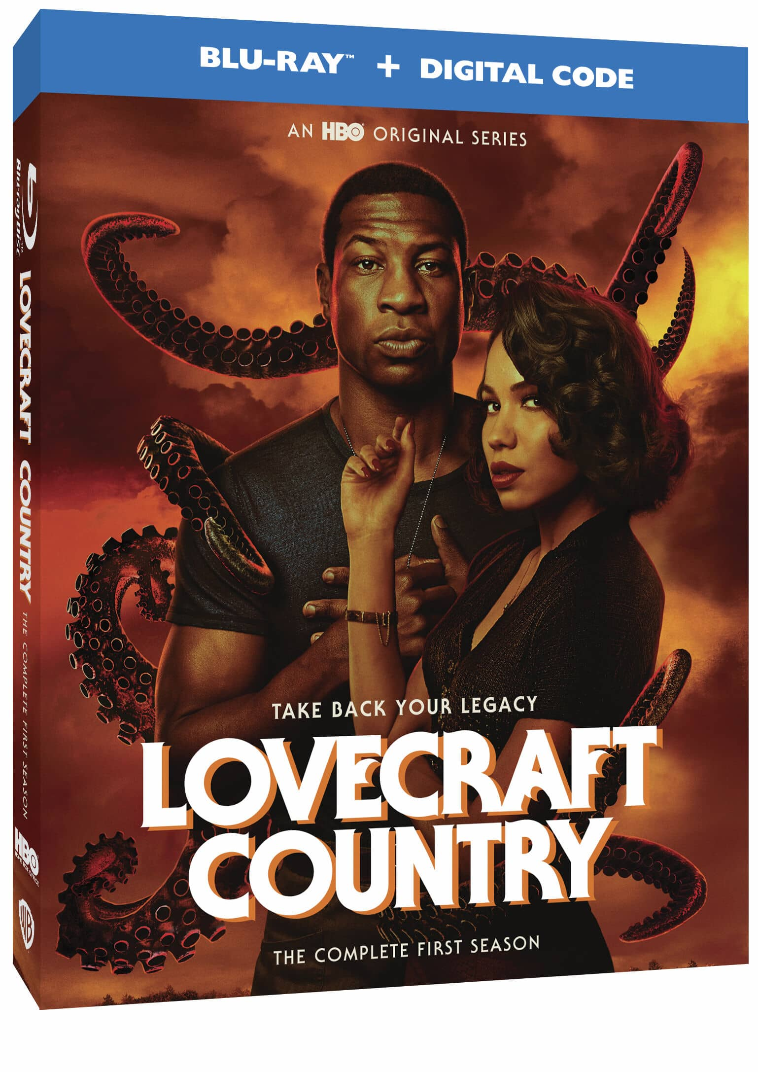 Lovecraft CountrySeason 1 Blu-ray Box Cover Artwork