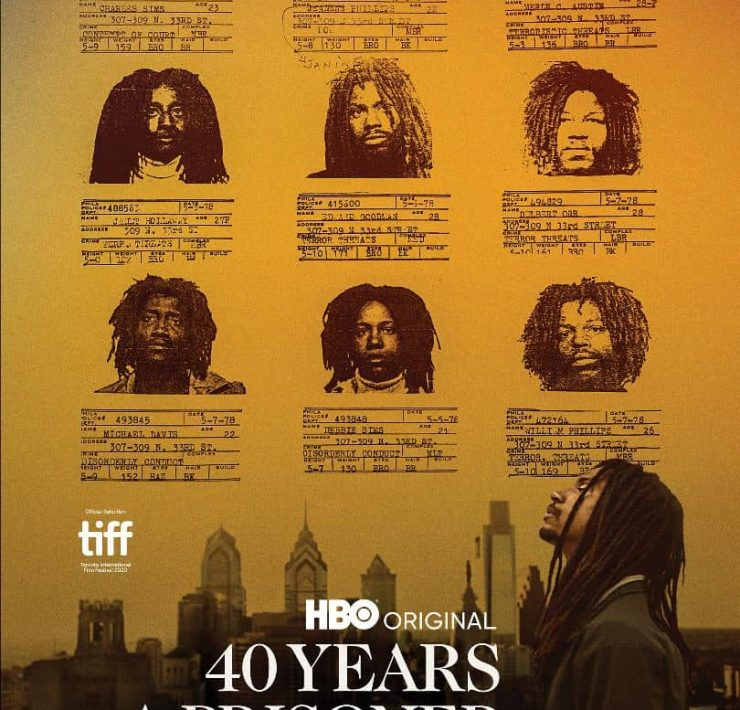 40 YEARS A PRISONER HBO Poster Key Art