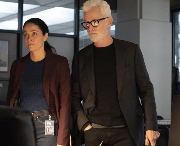"NEXT: L-R: Fernanda Andrade and John Slattery in the ""File #4"" episode of NEXT airing Tuesday, Nov. 17 (9:00-10:00 PM ET/PT) on FOX. © 2020 FOX MEDIA LLC. Cr: Sandy Morris/FOX."