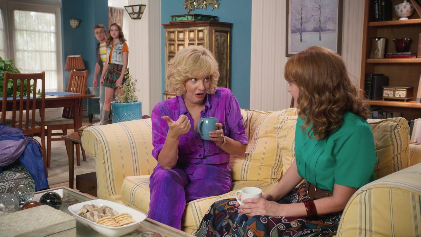 THE GOLDBERGS - ÒDee-VorcedÓ Ð BeverlyÕs meddling in AdamÕs relationship with Brea leads to a confrontation with her divorced mother, Vicki. Meanwhile, Barry struggles to reunite the JTP following his breakup with Ren on an all-new episode of ÒThe Goldbergs,Ó WEDNESDAY, NOV. 18 (8:00-8:30 p.m. EST), on ABC. (ABC) WENDI MCLENDON-COVEY