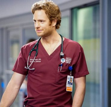 "CHICAGO MED -- ""Those Things Hidden In Plain Sight"" Episode 602 -- Pictured: Nick Gehlfuss as Dr. Will Halstead -- (Photo by: Elizabeth Sisson/NBC)"