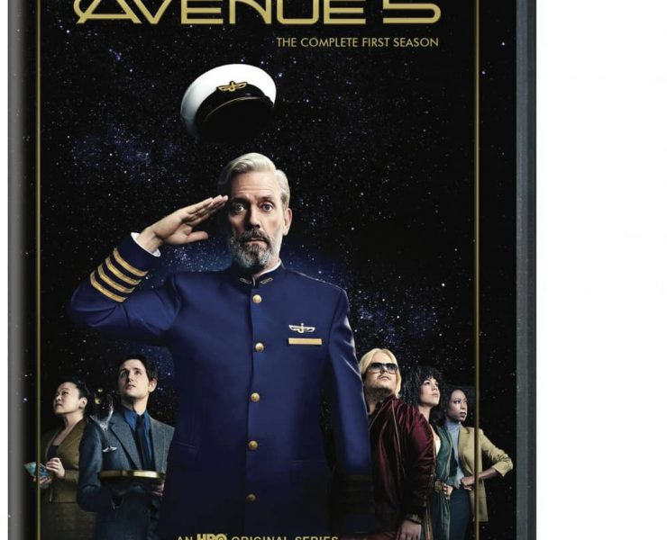 Avenue 5 Season 1 DVD Box Cover Artwork