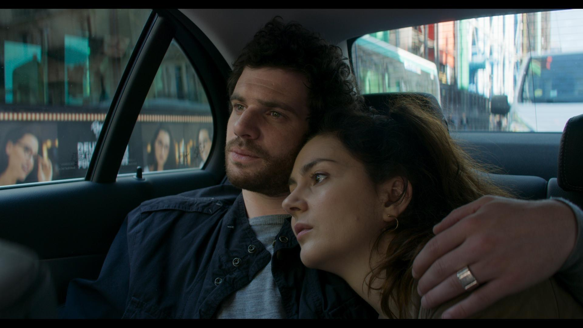 """No Man's Land -- """"Episode 1"""" -Episode 101 -- 2014. Antoine, a young Frenchman, is watching a news report from Syria when he's convinced that he spots his dead sister, Anna, in the background. Desperate to know the truth, he leaves Paris to find her. When crossing into Syria, he's almost kidnapped by ISIS, but they are attacked by the YPJ, a Kurdish all-female militia. Antoine (Félix Moati), shown. (Photo by: Haut et Court/Hulu)"""