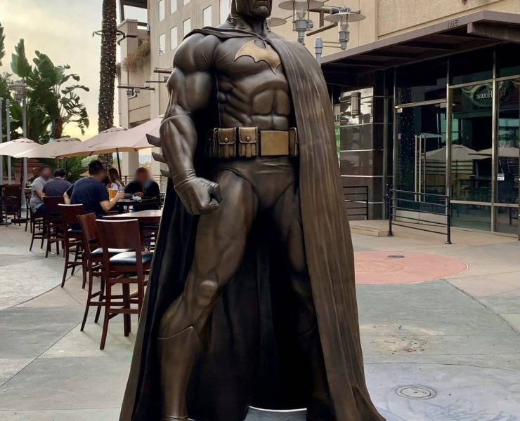 Batman Statue Burbank